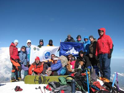 Экспедиция МАИ на западной вершине Эльбруса