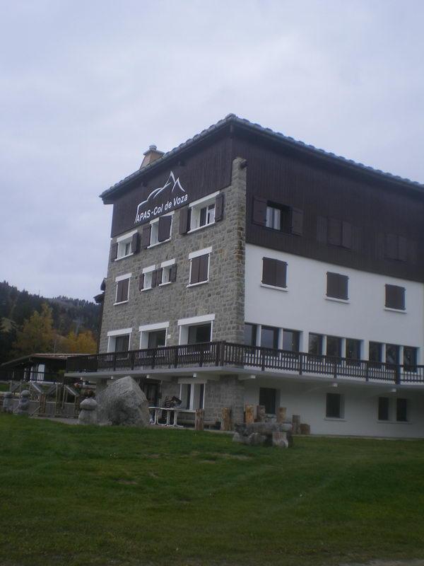 Отель на перевале Кол де Воза 1600м....посмотреть следующее фото...
